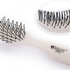 Расчёска Salon Professional 18045PW White Carbon