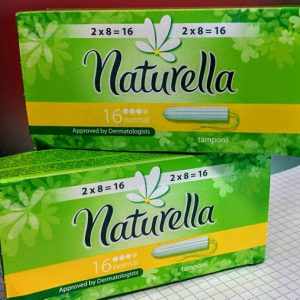 Тампоны гигиенические Normal Naturella 16шт
